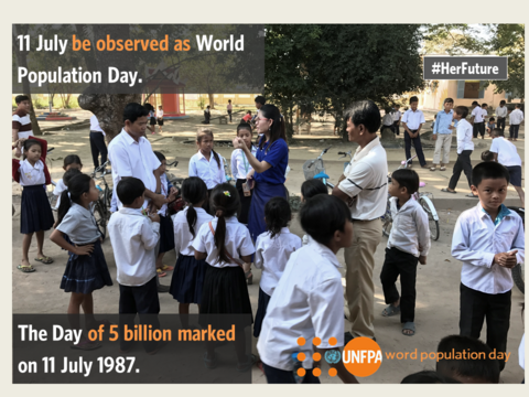 World Population Day: Empowering people, developing nations
