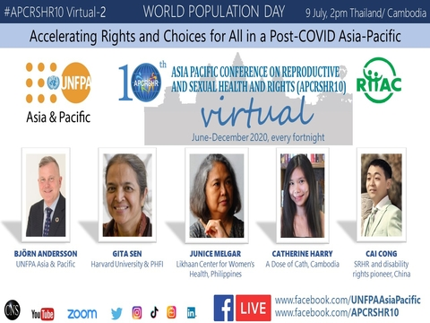 World Population Day 2020: APCRSHR10 - Youth and Rights in Cambodia